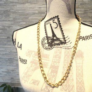 Gold Chain Necklace | Vintage Glam